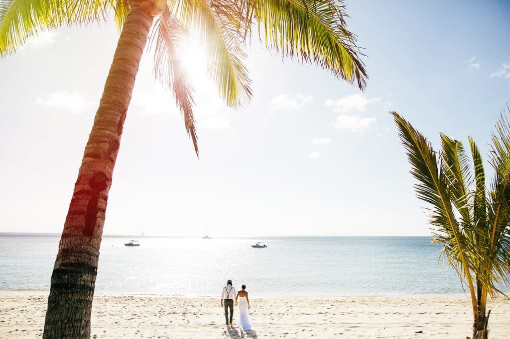 Tangalooma beach wedding