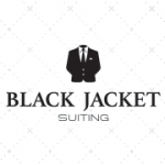 Black Jacket Suiting
