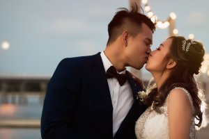 Sandstone Point Wedding – Emma and Calvin…..
